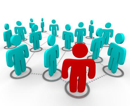 Redes Sociales Rojo